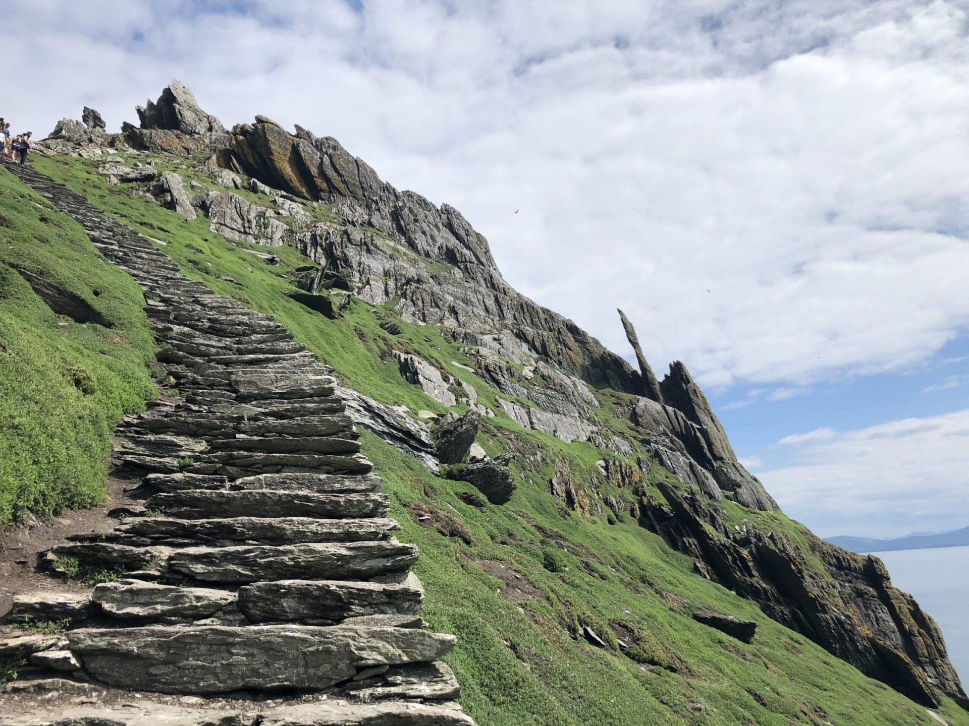 Stairs on Skellig Michael, Ireland