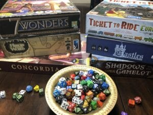 Board game travel