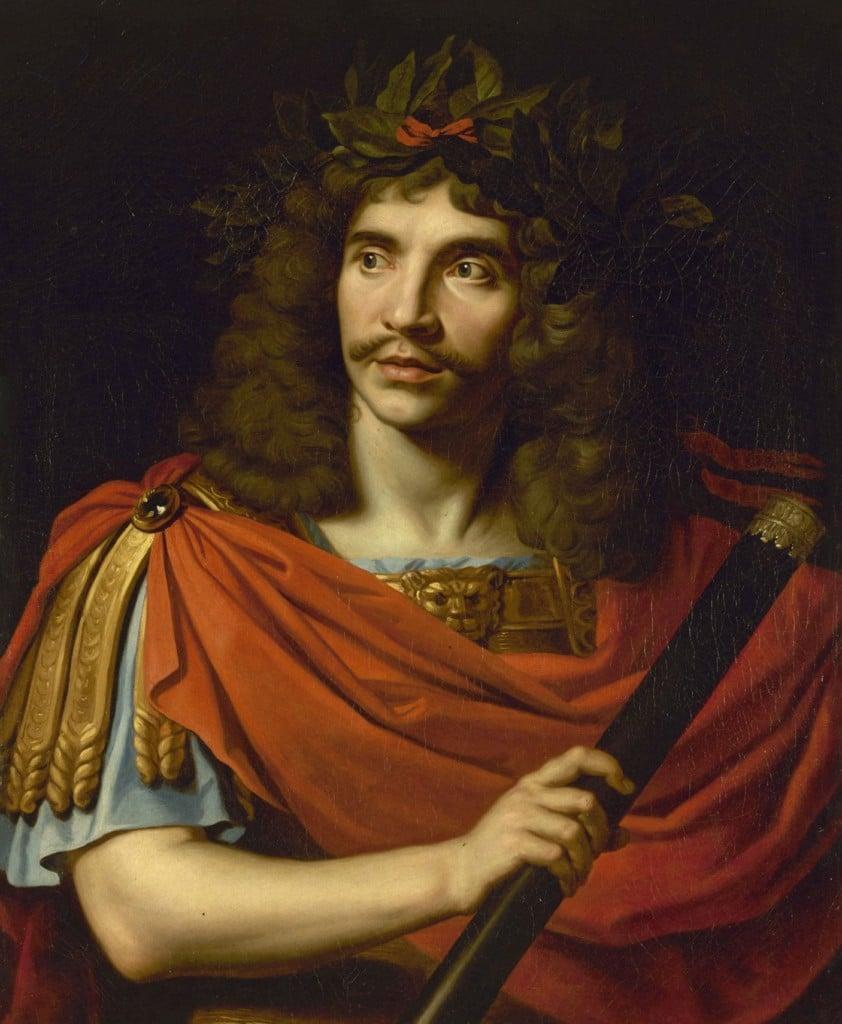 Moliere as Julius Cesar by Nicolas Mignard