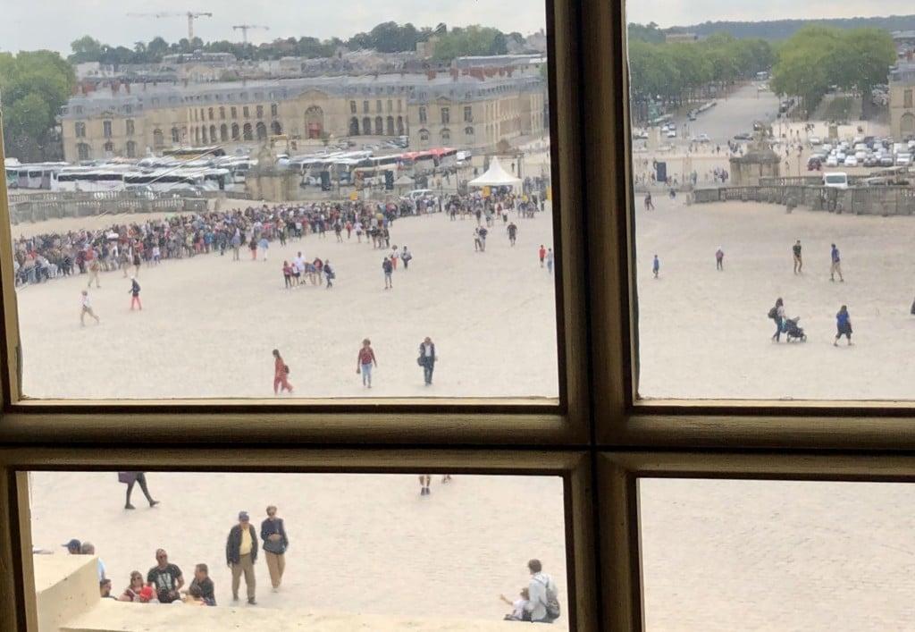 Line at Versailles