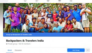 FB India Backpackers Group