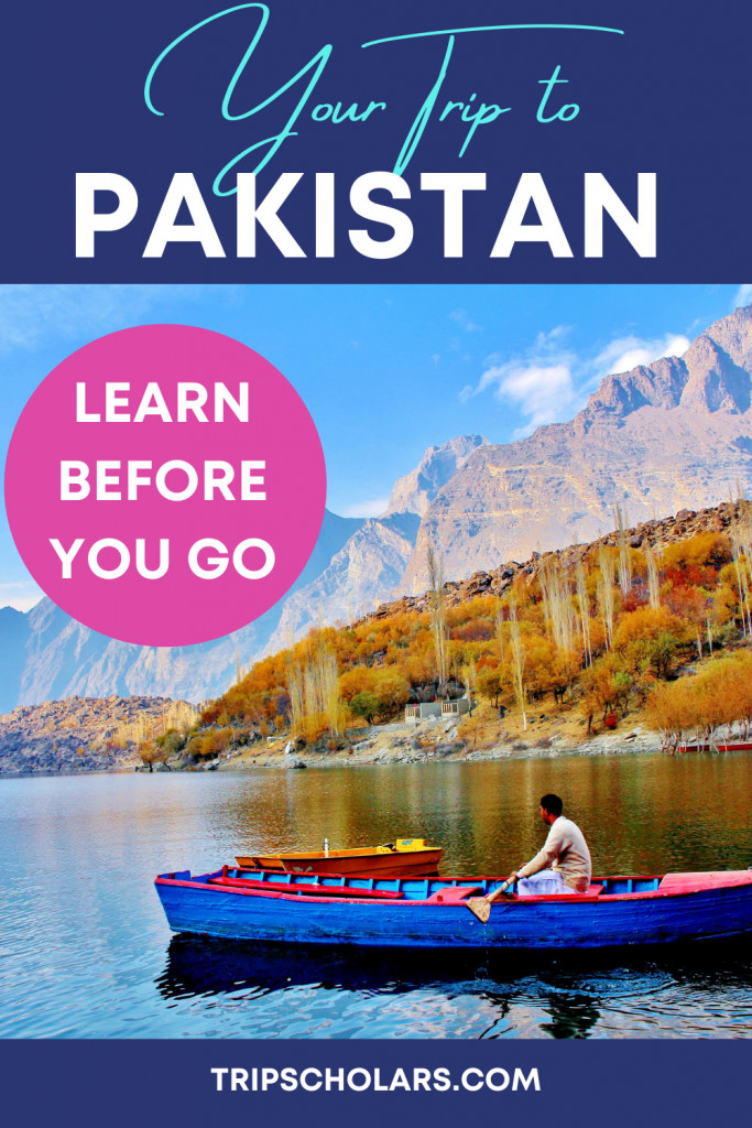 Your Trip to Pakistan Pin
