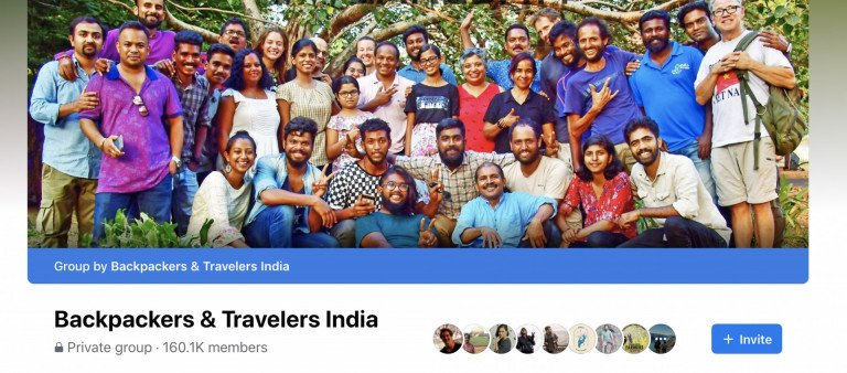 Backpackers and India Travelers Group
