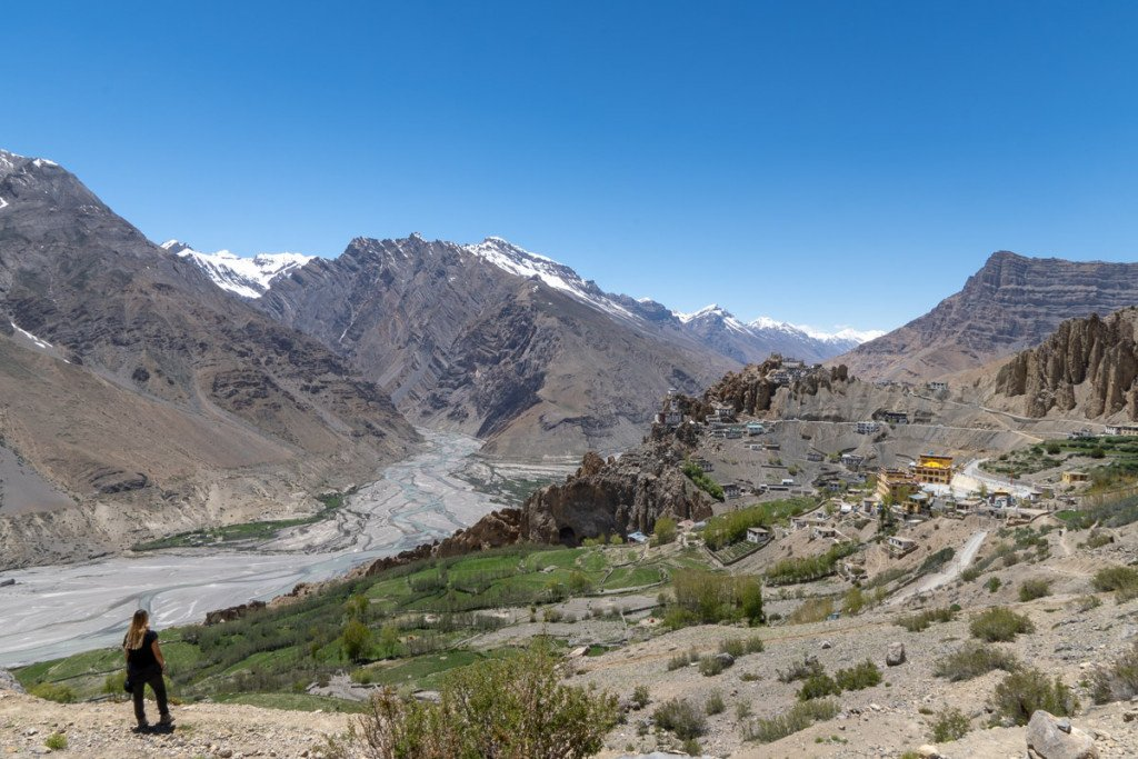 Dhankar Village, Spiti Valley, India. Photo by the Author
