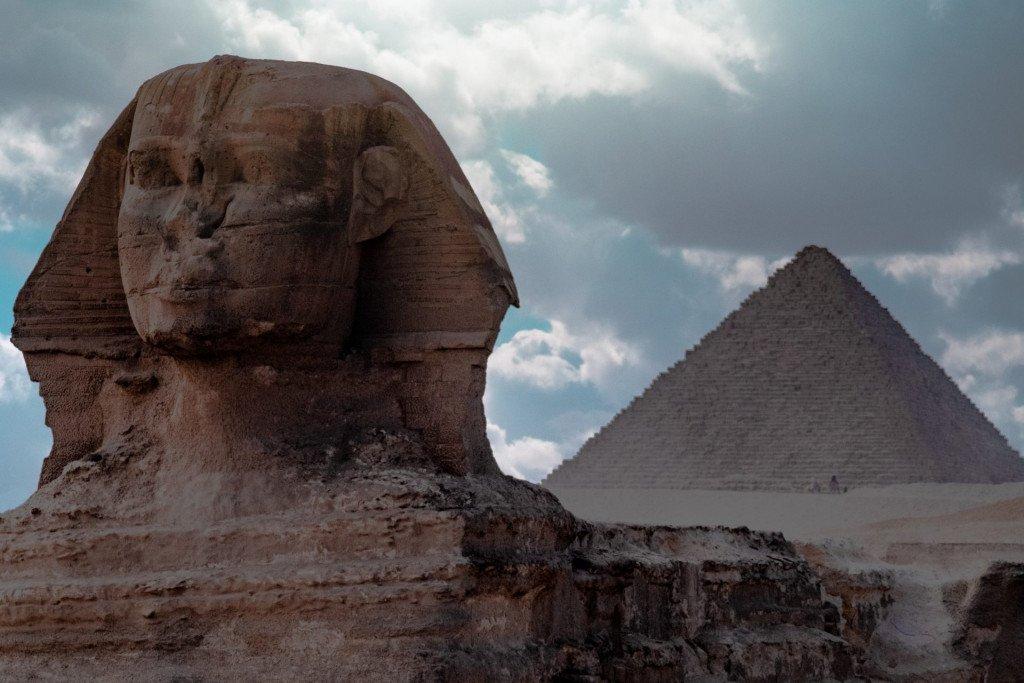 Pyramids of Giza, Egypt UNESCO World Heritage Site