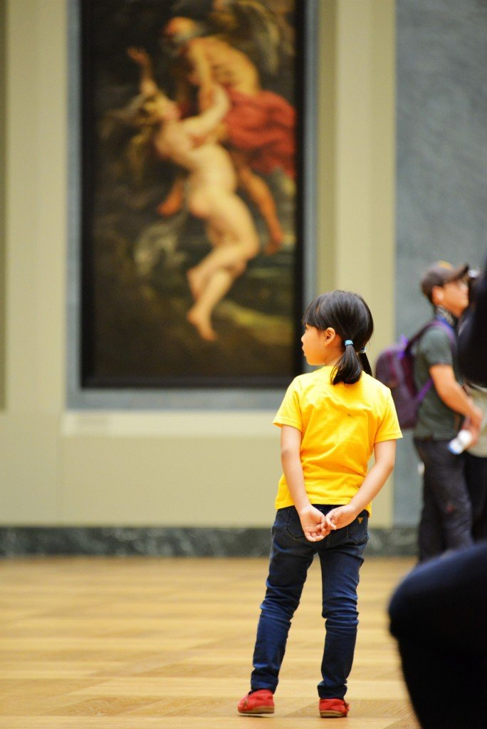 Child in the Louvre