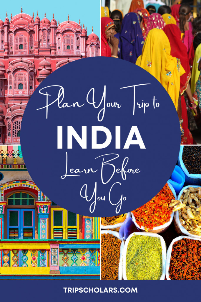 How to Plan Your trip to india pin