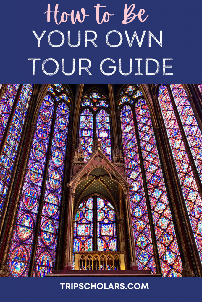 How to be your own tour guide pin
