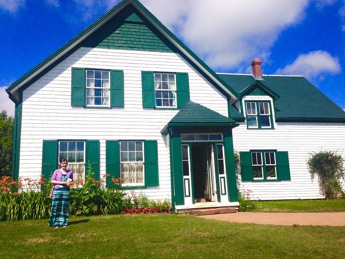 Reading at Green Gables