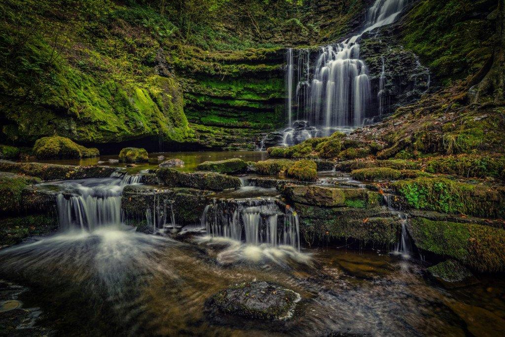 Waterfall, Yorkshire, UK