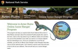 Aztec Ruins Jr Ranger