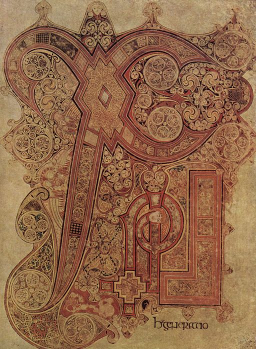 Chi Rho From the book of Kells