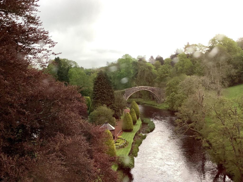 Robert Burns' village, Alloway, Scotland
