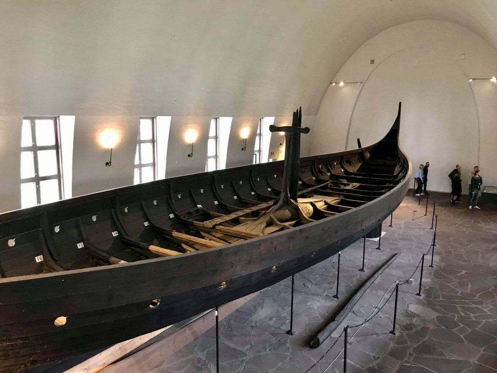 Viking Ship in Museum